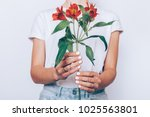 cropped image of a girl in... | Shutterstock . vector #1025563801