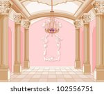 Interior Of The Ballroom Of...
