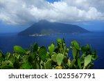 opuntia ficus  aeolian islands  ... | Shutterstock . vector #1025567791
