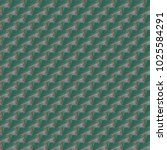 grunge seamless abstract green... | Shutterstock . vector #1025584291