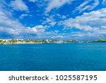 isla mujeres  mexico  january... | Shutterstock . vector #1025587195