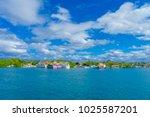isla mujeres  mexico  january... | Shutterstock . vector #1025587201