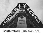 budapest  hungary   february 16 ...   Shutterstock . vector #1025623771