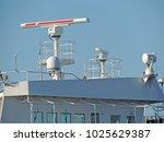 navigational equipment on a ship | Shutterstock . vector #1025629387