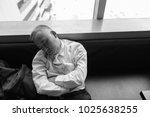 portrait of mature asian...   Shutterstock . vector #1025638255
