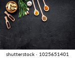condiments  seasoning and... | Shutterstock . vector #1025651401