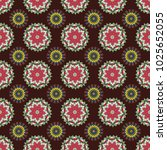 Seamless Motley Pattern With...