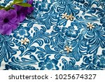 fabric pattern color blue... | Shutterstock . vector #1025674327