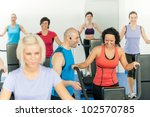 fitness instructor leading