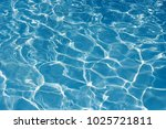 texture of water in swimming... | Shutterstock . vector #1025721811