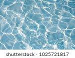 texture of water in swimming... | Shutterstock . vector #1025721817