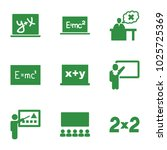 class icons. set of 9 editable...