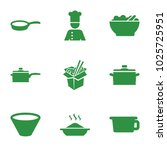 soup icons. set of 9 editable... | Shutterstock .eps vector #1025725951