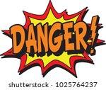 big sanger sign | Shutterstock .eps vector #1025764237
