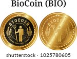set of physical golden coin... | Shutterstock .eps vector #1025780605