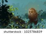 digital illustration art... | Shutterstock . vector #1025786839