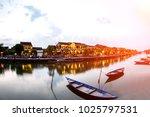 hoi an old town a beautiful... | Shutterstock . vector #1025797531