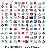 vector illustration of various... | Shutterstock .eps vector #102581129