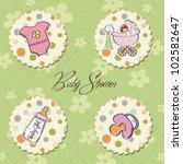 cartoon baby girl items...