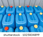 close up shot of blue plastic... | Shutterstock . vector #1025834899