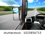 Truck Dashboard With Driver's...