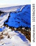 peak district  derbyshire  uk.... | Shutterstock . vector #1025862685