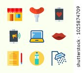 icons about lifestyle with... | Shutterstock .eps vector #1025874709