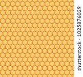 yellow geometric honeycomb...   Shutterstock .eps vector #1025876029