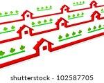 house | Shutterstock . vector #102587705