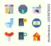 icons about lifestyle with... | Shutterstock .eps vector #1025878201