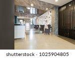 hotel lobby cafe interior   Shutterstock . vector #1025904805