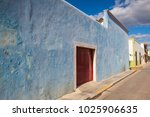 campeche  mexico   january 31... | Shutterstock . vector #1025906635