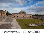 uxmal  mexico   january 30 ... | Shutterstock . vector #1025906881