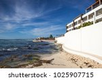 playa paraiso  mexico  ... | Shutterstock . vector #1025907715