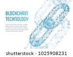 block chain. crypto currency.... | Shutterstock .eps vector #1025908231