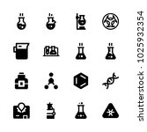icons chemistry. vector lab... | Shutterstock .eps vector #1025932354