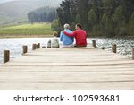 father son and grandfather... | Shutterstock . vector #102593681
