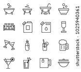 flat vector icon set   witch... | Shutterstock .eps vector #1025940361