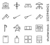 flat vector icon set  ... | Shutterstock .eps vector #1025940421