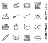 flat vector icon set   abacus... | Shutterstock .eps vector #1025942419