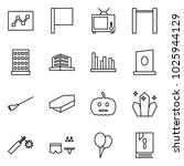 flat vector icon set   graph... | Shutterstock .eps vector #1025944129