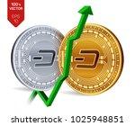 dash. growth. green arrow up.... | Shutterstock .eps vector #1025948851