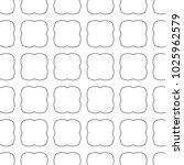 seamless ornamental vector... | Shutterstock .eps vector #1025962579