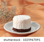 coconut dessert and chocolate  | Shutterstock . vector #1025967091