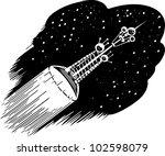 photon spaceship | Shutterstock .eps vector #102598079