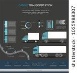 cargo logistics service...   Shutterstock .eps vector #1025988307