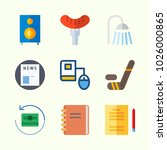 icons about lifestyle with... | Shutterstock .eps vector #1026000865