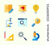 icons about inspiration with... | Shutterstock .eps vector #1026000931