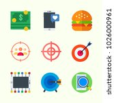 icons about lifestyle with... | Shutterstock .eps vector #1026000961
