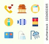 icons about lifestyle with... | Shutterstock .eps vector #1026002305